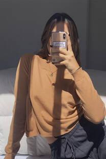 Sweater cuello ancho -