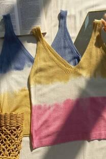 Musculosa tejido batik