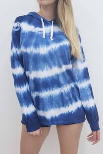 Buzo jersey batik con capucha
