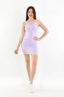 Vestido deportivo de algodon c/lycra -