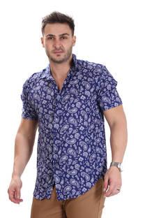 Camisa de Fibrana Full Print Bulgaros -