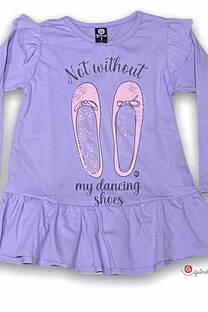Remera vestido beba ml ZAPATOS MY DANCING -