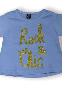 Remera beba mc ROCK CHIC -