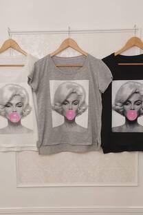 Remera Marilyn ( Chicle Globo) -