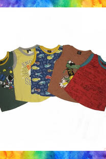 PACK X 3 MUSCULOSA BEBE -