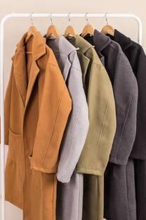Saco de paño oversize -