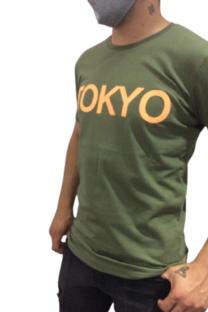 Remera Estampa TOKYO Verde Tokyo  -