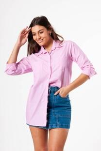 Camisa Rayada Poplin -