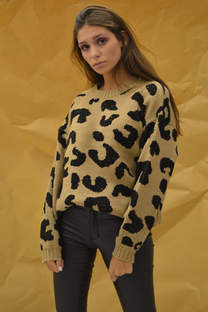 Sweater animal print -