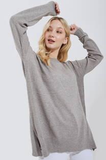 Sweater Bremer Básico Cuello Redondo -