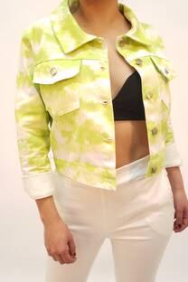 Jacket gabardina batik -