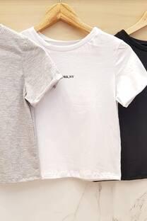 Remera NY algodón jersey -