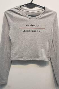 remera algodon c lycra con estampado Rampling -