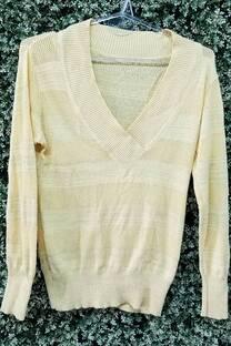 Sweater v  tejido