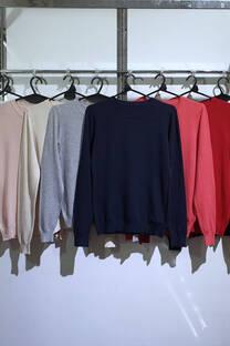 y1801 sweater clasico cuello redondo 39 cm -