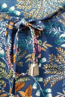 Blusa crep estampada