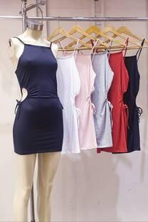 Vest. Frunce tira laterales -