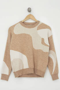 SWEATER PRINT ABSTRACTO -