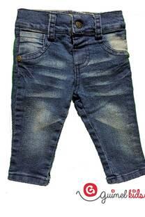 Jean mini bb azul osc c/big y pinzas -