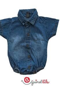 Body camisa jean mc -
