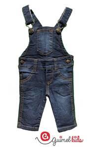 Jardinero mini bb jean elast
