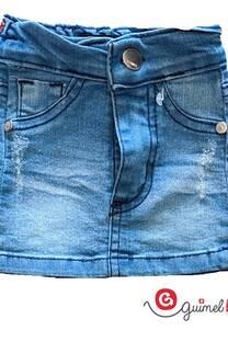 Mini beba jean elast -