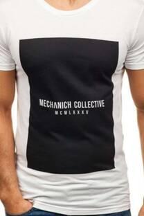 """Remera estampada """"Mechanich""""  -"""