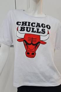 Remera m/c jersey CHICAGO BULLS TORO -