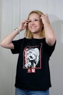 Remera m/c jersey anime HIMIKO TOGA -