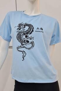 Remera m/c jersey DRAGON SHANGHAI -