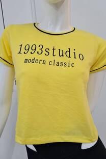 Remera m/c jersey c/detalle 1993 STUDIO