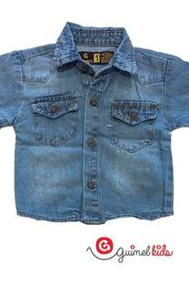 Camisa bb jean mc -