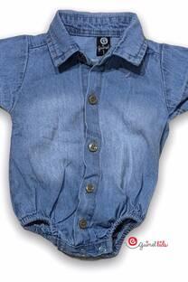 Body camisa mc mini bb jean -
