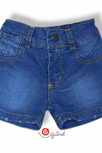 Short beba jean elastizado -