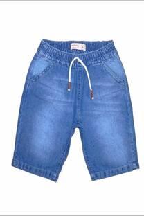 """Bermuda """"JOGGER! de niño en jean finito -"""