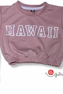Buzo nena rustico elastizado corto  HAWAII -