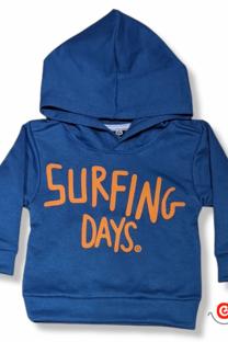 Buzo bb c capucha rustico SURFING DAYS