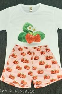 Pijama Sublimado Frutillita -