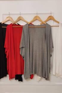 Kimono Ashton Spolverino Con Tajos A Los Costados Visco De Alta Torsión -