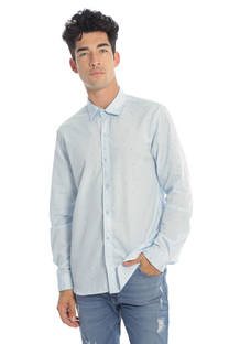 CAMISA SLIM FIT M/L FANTASIA -