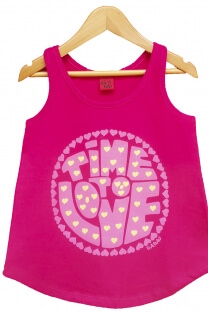 Musculosa Nena Time To Love -