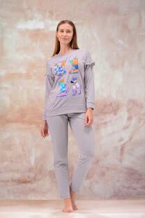 Pijama Remera Pantalon Jersey Mouline -