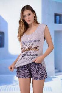 pijama remera y short -