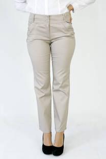 Pantalón clásico recto de dama -