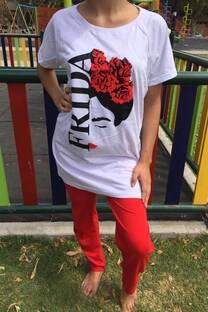 Pijama Frida con remeron -