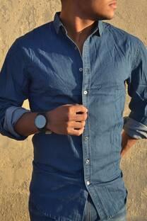 Camisa de Jean Elastizada -
