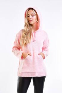 Sweater con capucha fancy -