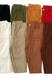 Pantalon bengalina c/pinza atras -