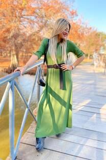 Vestido creppe BUDAPEST -