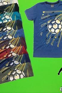 Remera football -